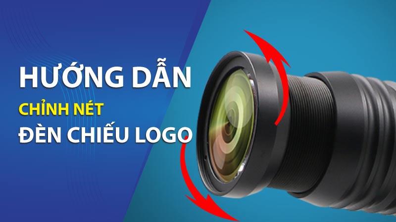 Hướng dẫn sử dụng đèn chiếu logo