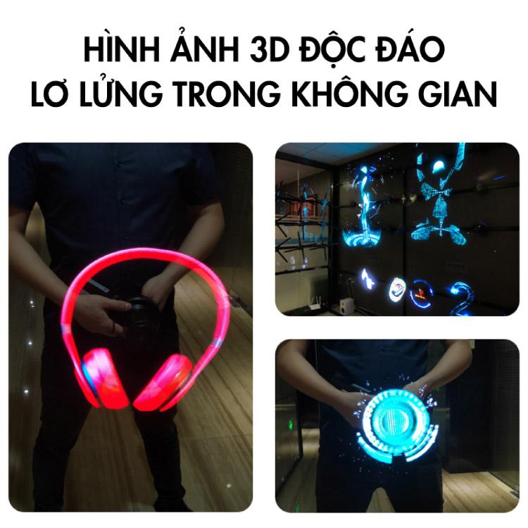 Quạt đèn Led 3D Hologram G80