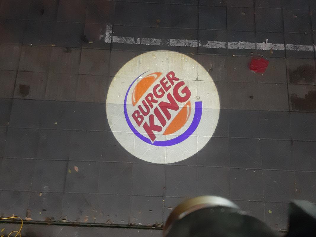 Đèn chiếu logo Burger King
