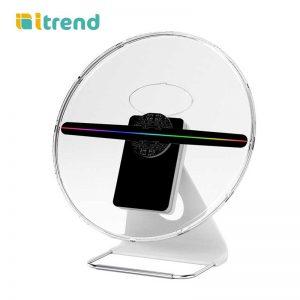 Quạt đèn led 3D Hologram để bàn