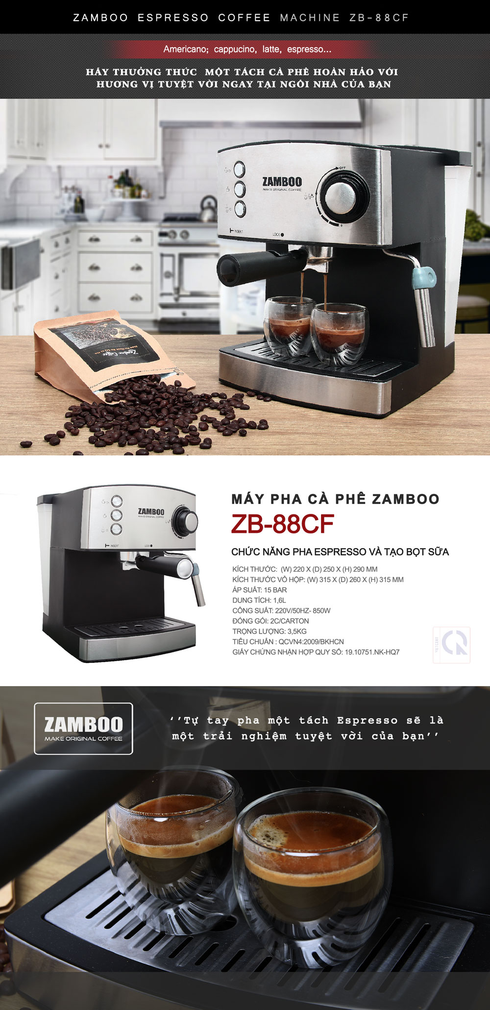 ZAMBOO ZB 88CF