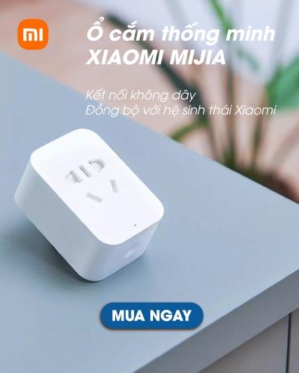 Ổ Cắm Thông Minh Kết Nối Wifi Xiaomi Mijia Smart Socket 2